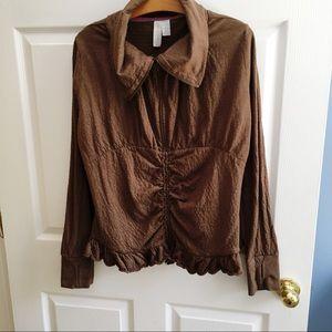 MATILDA JANE stealth thumb hole jacket size XL